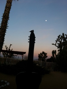 Gram Parsons' memorial at Joshua Tree Inn