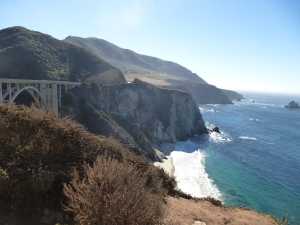 Bixby Bridge, the gateway to Big Sur