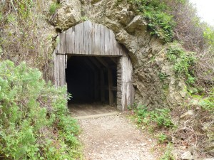 old tunnel - looks inviting, no?