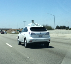 self-driving car in San Jose