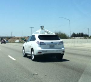 self-driving car in San Jose