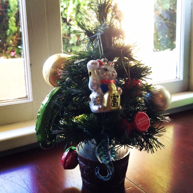 here's our Christmas tree