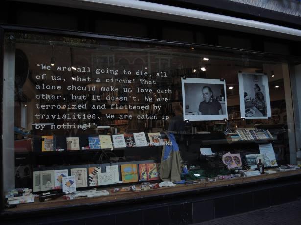 photo taken by Steve Jackson outside a coffee shop in Amsterdam