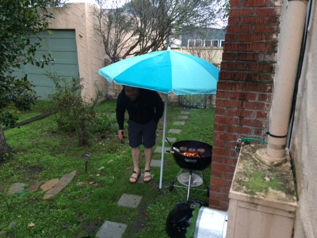 umbrella burgers